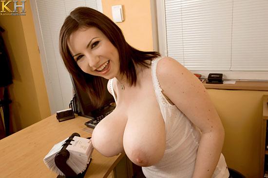 Karina Hart Busty Teen Attraction