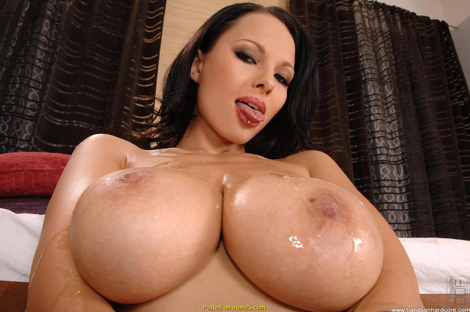 Big breast cum