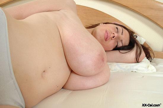 Huge Titted Merilyn Sakova Sleeping Naked at XXCel.com