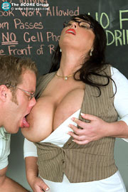 Big Breasted Teacher Indianna James Fucked In School at Scoreland.com