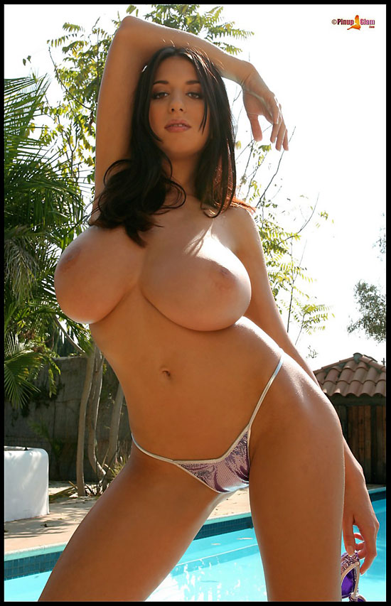 Big Breasted Jana In Bikini at PinupGlam.com