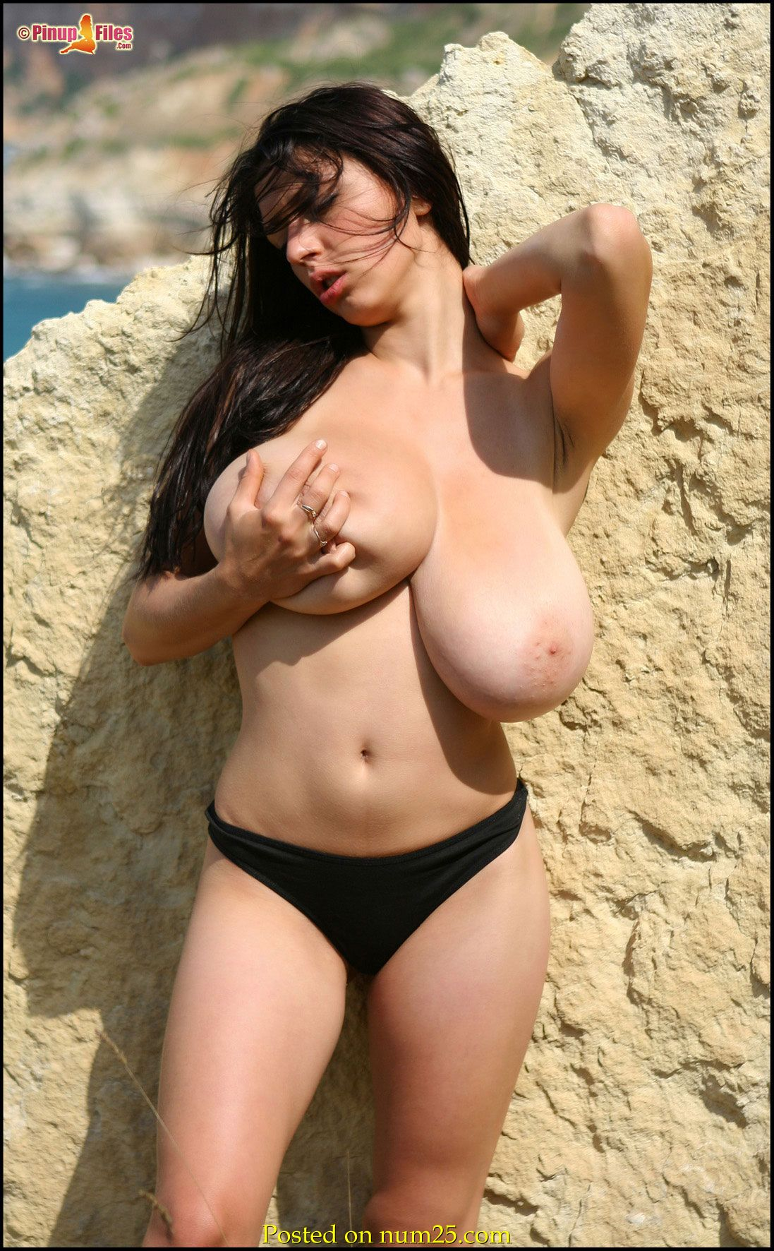 Big Tits On Beach Busty Merilyn Sakova PinupFiles 08 Australia's Nude Beach Plans