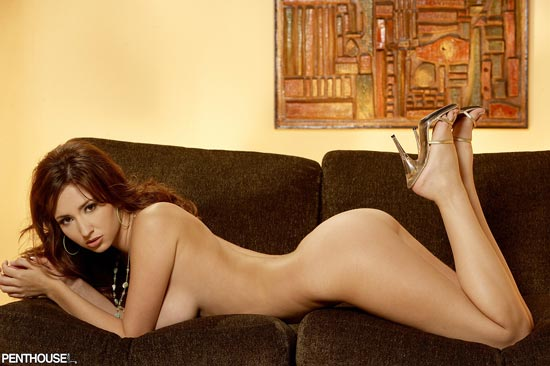 Shay Laren Spreading Long Legs Twistys.com