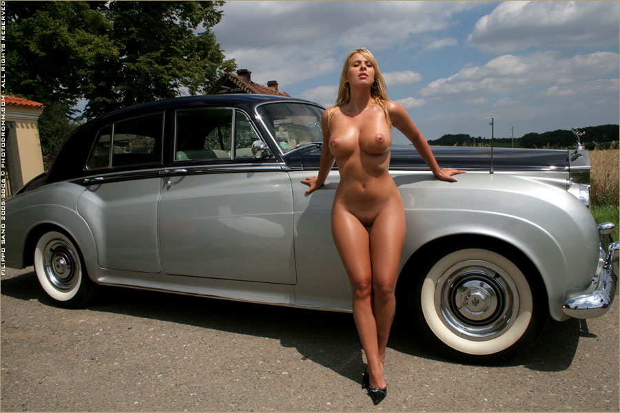 beautiful blonde hottie tries to sell her car and ends