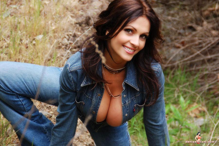 Denise milani tits