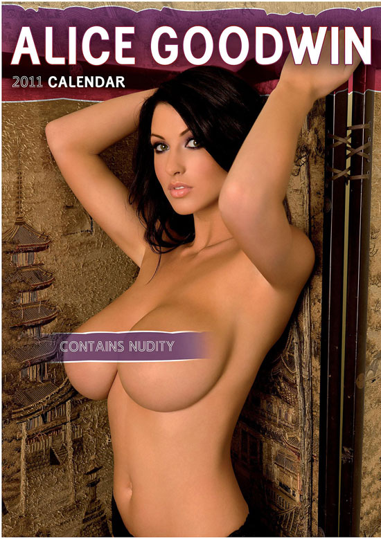 Alice Goodwin 2011 calendar cover
