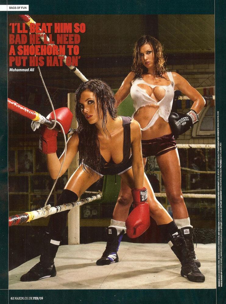 Эротика девушки в боксе 10 фотография