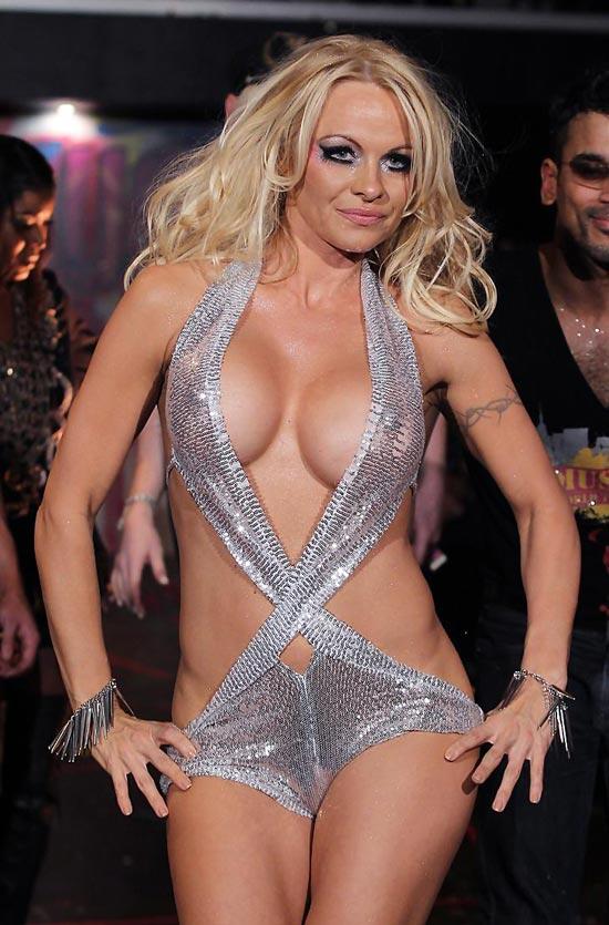Famous glamour model Pamela Anderson