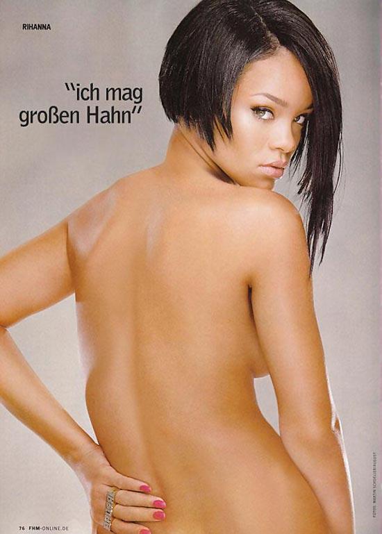 Rihanna nued photo