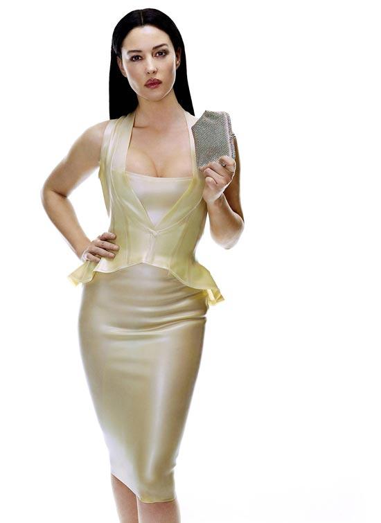 Promo images of Monica Belluci