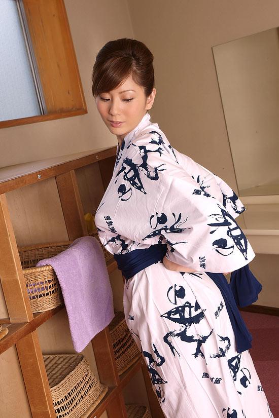 Yuma Assami in White Kimono